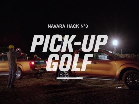 Nissan Digital Ad -  Work Hack - Pick-up golf