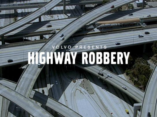 Volvo Ambient Ad -  Highway robbery
