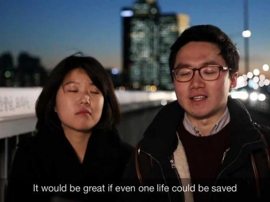 Samsung Ambient Ad -  Bridge of Life