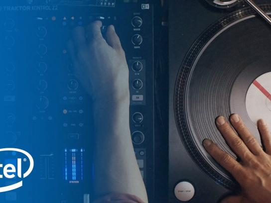 Intel Digital Ad -  Reinventing the turntable