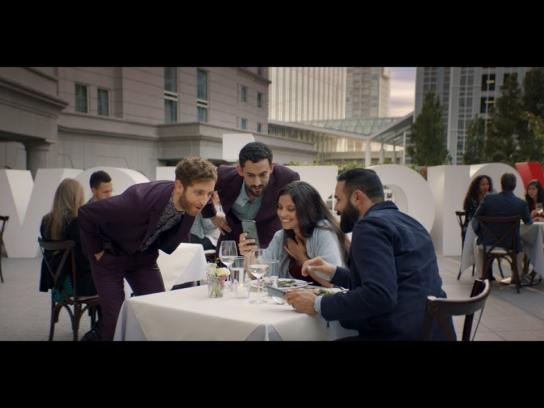 Verizon Film Ad - Date Interrupted