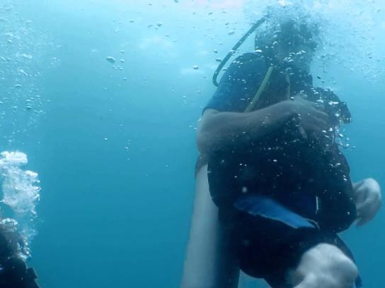 Club Med Film Ad -  Diver