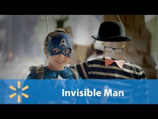 Walmart Film Ad - Invisible man