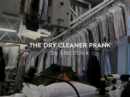Electrolux Ambient Ad - The dry cleaner prank