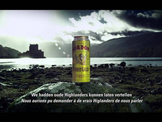 Gordon Finest Beers Film Ad -  Nothing to prove