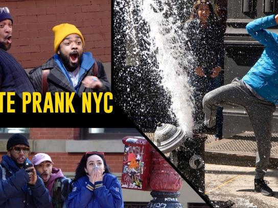 YouTube Experiential Ad - Karate Prank NYC
