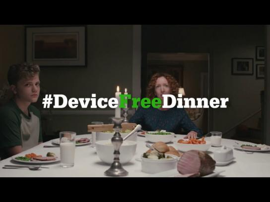 Common Sense Media Film Ad - Device Free Dinner - Like