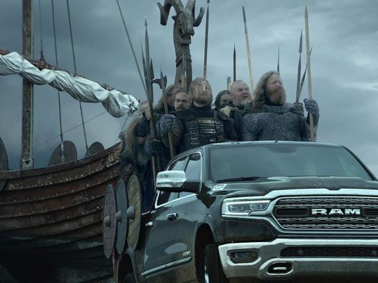 Dodge Film Ad - Icelandic Vikings