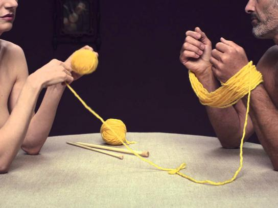 Aides Film Ad -  Knitting