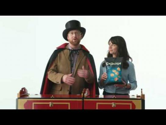 Popchips Film Ad -  Magic