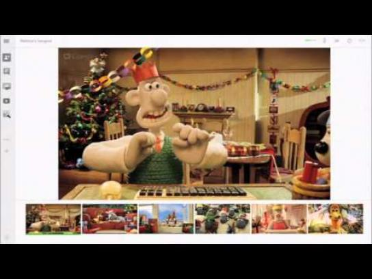 Google Film Ad -  Wallace & Gromit