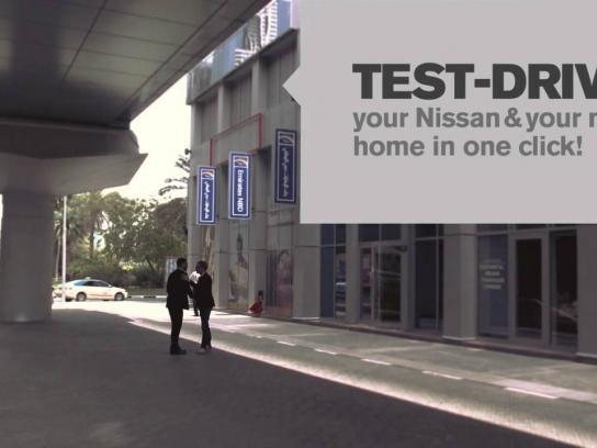 Nissan Digital Ad -  Househunter Test-Drive