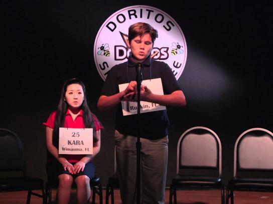 Doritos Digital Ad -  Mis-spelling bee