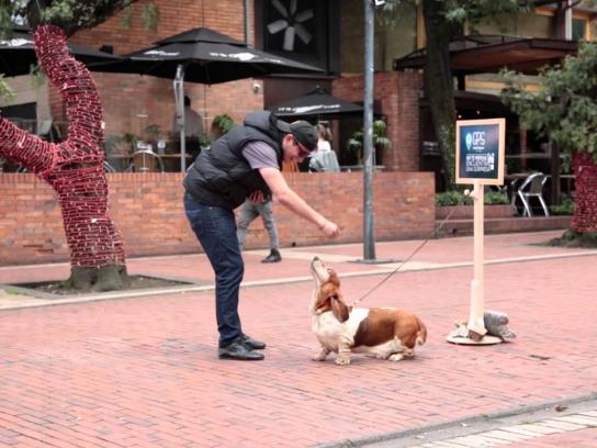 Hush Puppies Ambient Ad -  GPS Hush Puppies