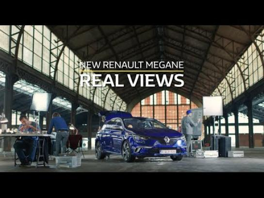 Renault Ambient Ad -  Real views