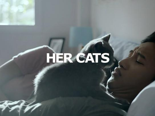IKEA Film Ad - HER CATS - Now, There's Choice