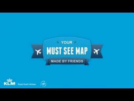 KLM Digital Ad -  Must See Map
