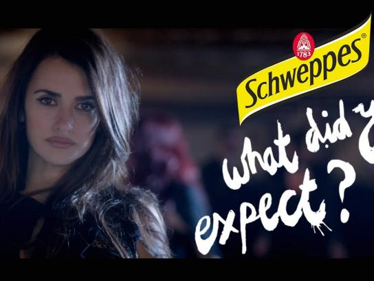 Schweppes Film Ad -  What did you expect