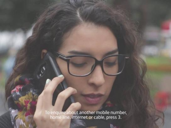 Fundación Telefónica Ambient Ad - A call to indifference