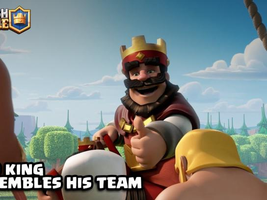Supercell Film Ad - The Red King is Ready to Duel!