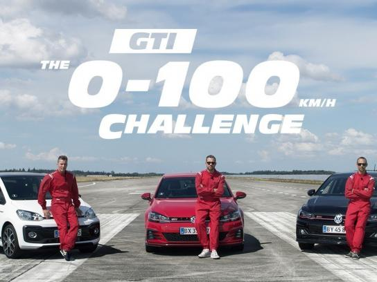 Volkswagen Film Ad - The GTI 0-100 Challenge