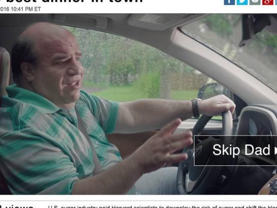 Toyota Digital Ad - Skip dad hygiene