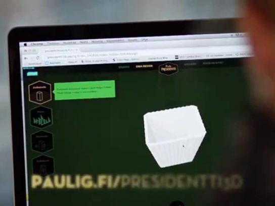 Paulig Presidentti Direct Ad -  3D Coffee Box