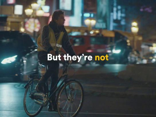 Bike for Brussels Film Ad - Discover the First Bike Light Lane