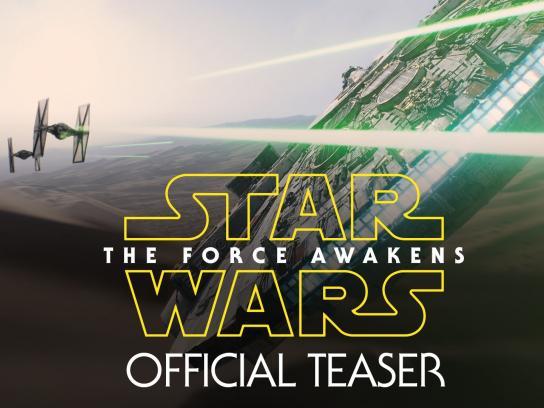Star Wars Film Ad -  The Force Awakens
