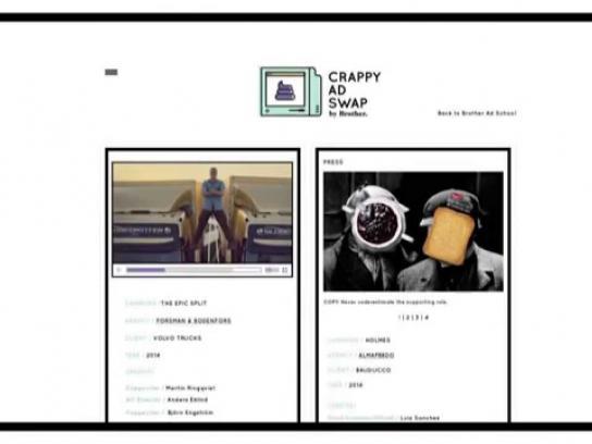 Brother Ad School Digital Ad -  Crappy Ad Swap