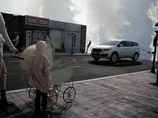 KIA Film Ad -  New type of crash test