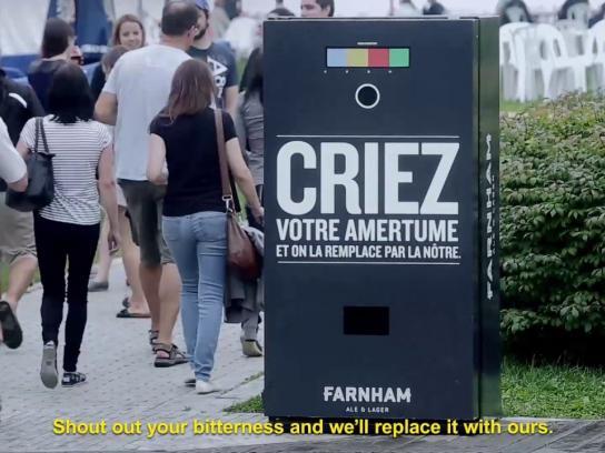Farnham Ale & Lager Ambient Ad - Scream Machine