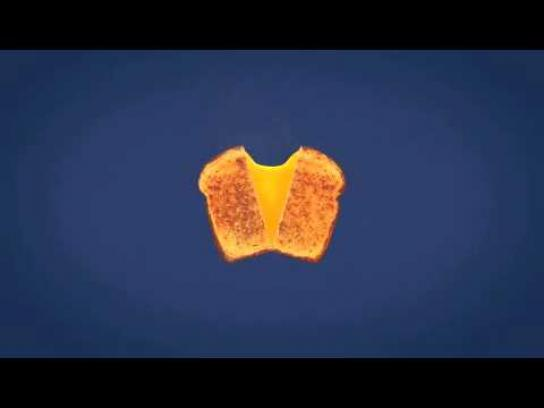 Kraft Film Ad -  Orange square