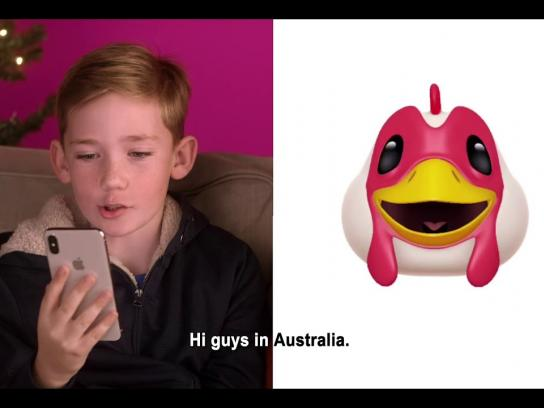 Three Digital Ad - #Makeitcount - Animoji