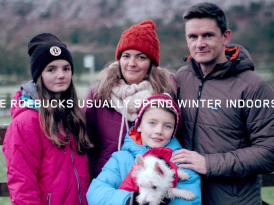 Land Rover Digital Ad -  The Hibernot Family, Day 1
