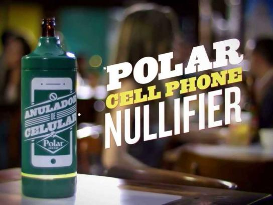 Polar Beer Ambient Ad -  Polar Cell Phone Nullifier