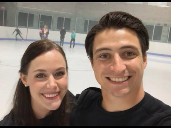 Cheerios Experiential Ad - Be the Cheer - Tessa & Scott