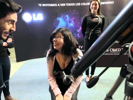 LG Ambient Ad -  Telescope