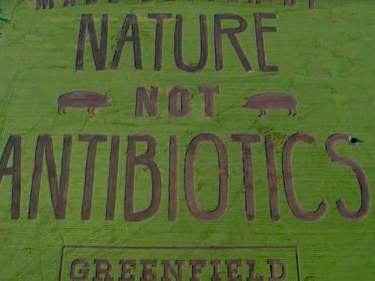 Greenfield Natural Meat Co. Ambient Ad - Farmvertising