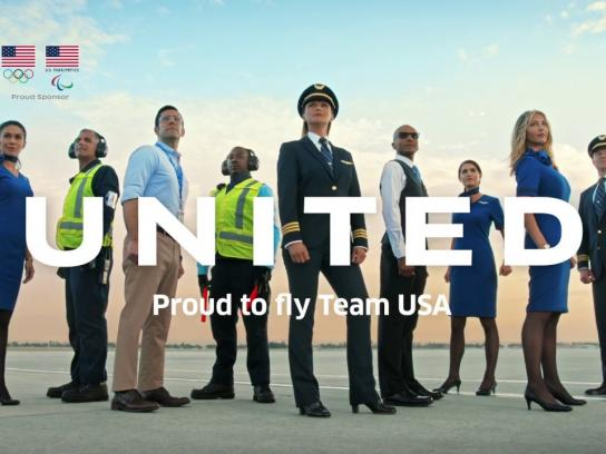 United Airlines Film Ad - Team United - To South Korea!