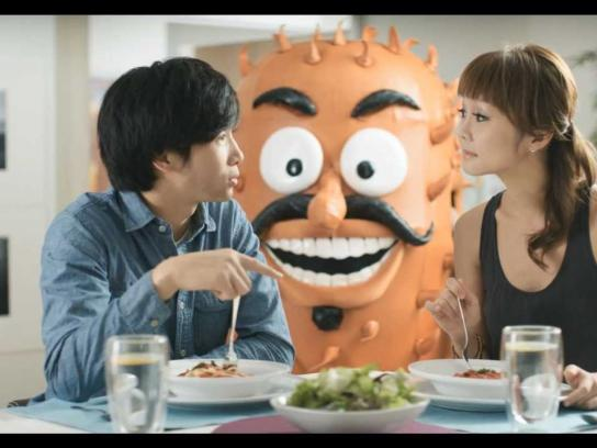 Schick Film Ad -  Stop the Irrito!, The Dinner