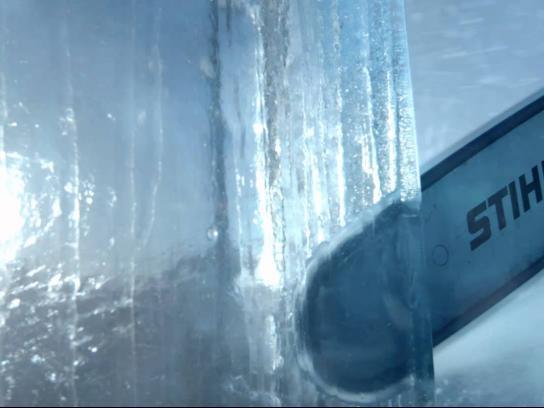 Stihl Film Ad -  Polar station