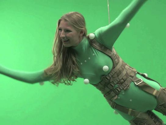 True Fruits Film Ad -  The Green Screen Prank, Mermaid