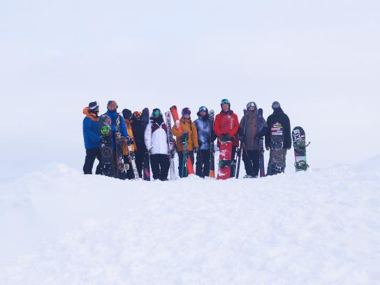 Ski & Ride NZ Digital Ad - Snow addicts