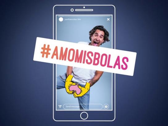 Liga Contra el Cancer Digital Ad - #AmoMisBolas