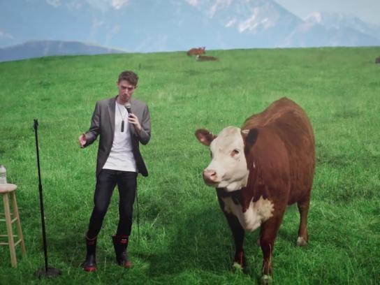 New Zealand Jerky Film Ad - Four Udders