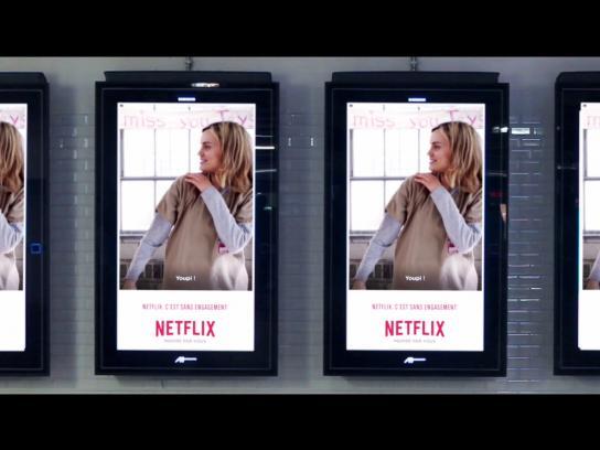 Netflix Outdoor Ad -  GIFs