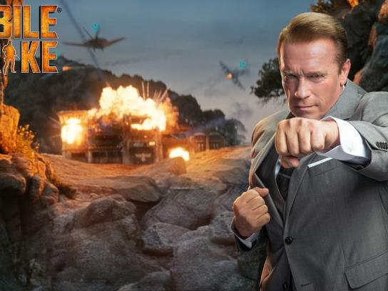 Mobile Strike Film Ad - Arnold's one liners