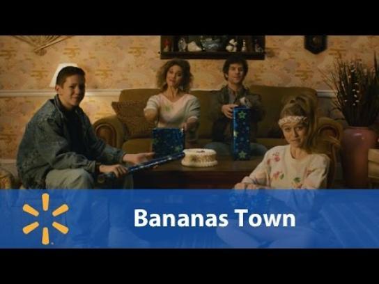 Walmart Film Ad - Bananas town