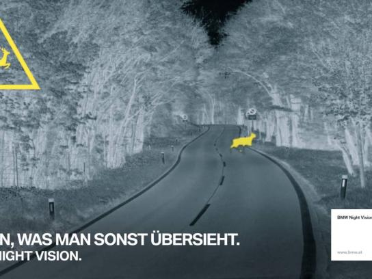 BMW Outdoor Ad - Night vision